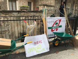Anteas Campolongo per il terremoto in Centro Italia