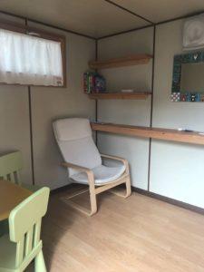 Baby little home, casetta mobile per allattamento a Trento