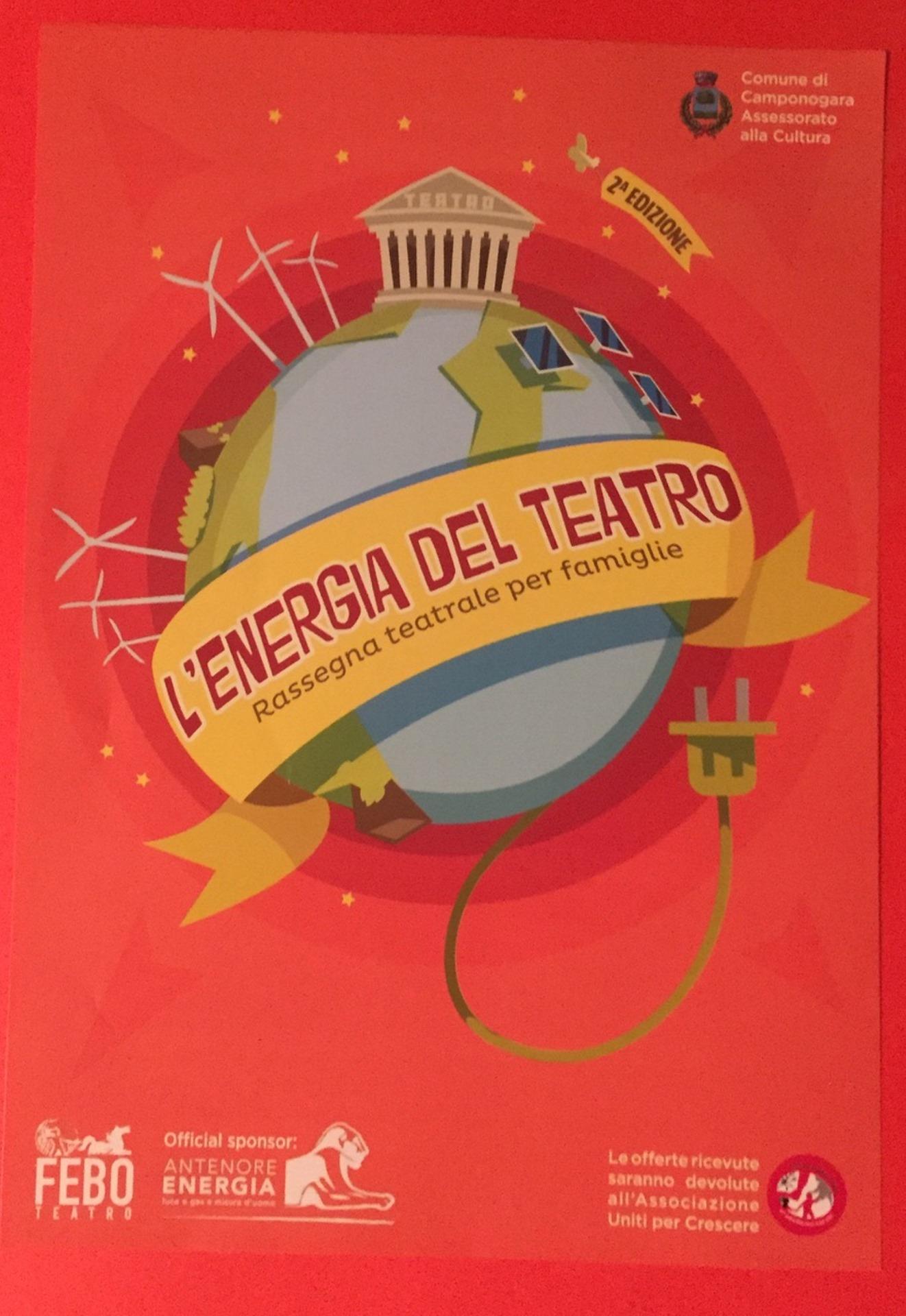 """L\'Energia del Teatro"""" a Camponogara con la nuova rassegna teatrale ..."""