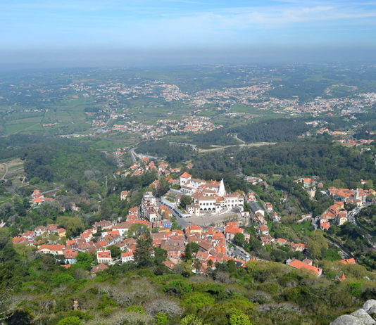 Sintra Portogallo Lisbona
