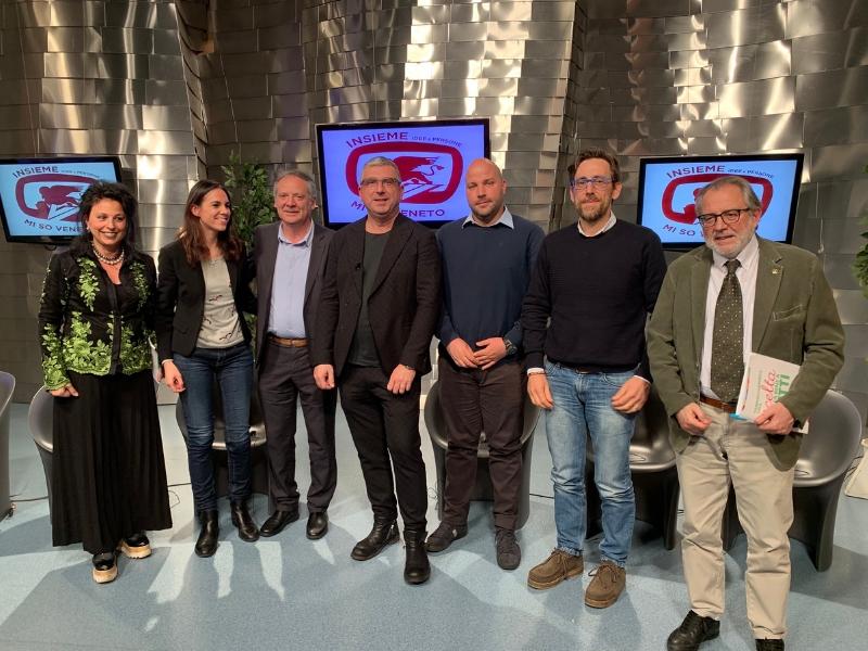 conduttore e ospiti puntata Insieme - Idee e Persone... Mi so Veneto 11 aprile