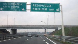 autostrada-uscita-redipuglia
