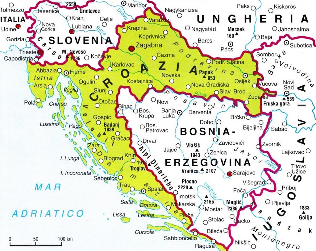 Italia Croazia Cartina.Asse Italia Croazia Turismo E Salute Il Sestante News Giornale Online