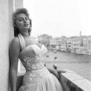 Sofia Loren Venezia 1955