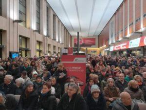 messa in stazione FFSS Padova